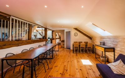 Location gîte 15 personnes Vosges, un bel espace d'accueil